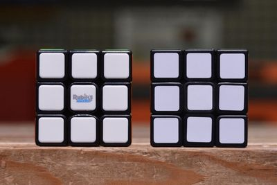 A Rubik's Cube That Is Powered By A Robotic Core