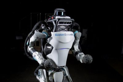 Boston Dynamics' Atlas Robot Will Outrun You