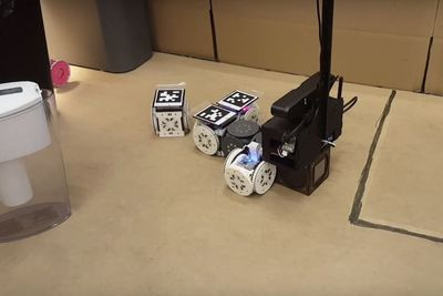 This Robot Changes Shape And Behaviour To Suite Its Tasks