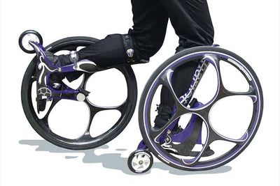 Would You Wear Bicycle Wheels That Attach To Your Feet?