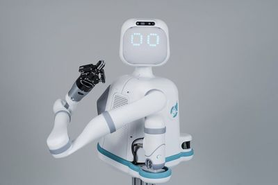 Moxi Is A Friendly AI Healthcare Robot