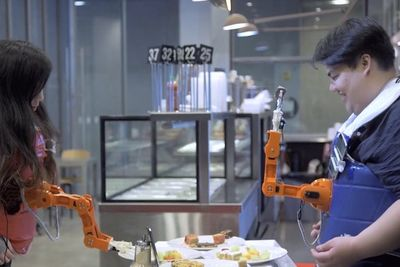 This Robot Will Feed You More Food