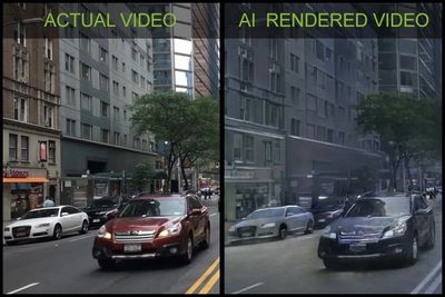 NVIDIA's AI Tool Can Turn The Real World Into Virtual Reality