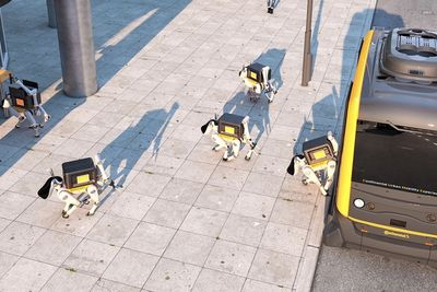 Robot Dogs Are The Delivery System Of The Future