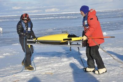 Robots Spent A Year Collecting Data Under The Antarctic Ice