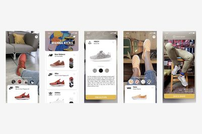 There Is An Augmented Reality App That Lets You Fit Sneakers