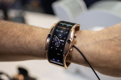 The Latest Trend Might Be Foldable Smartwatches