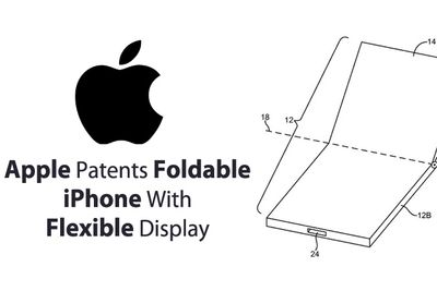 There Is A Patent For A Foldable iPhone