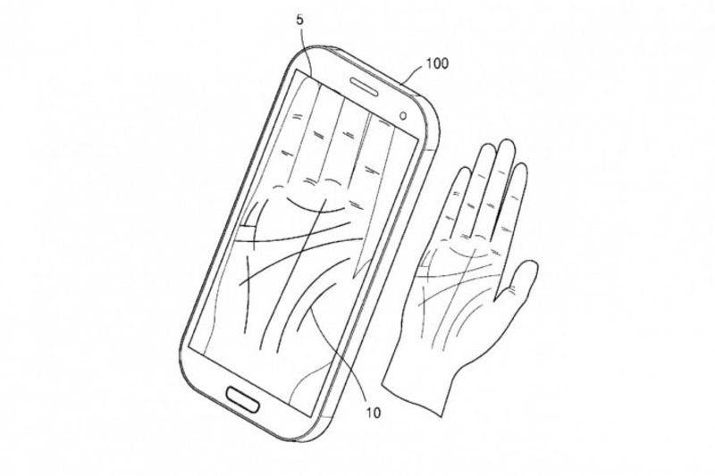 Samsung Wants To Hide Your Password In The Palm Of Your Hand 1