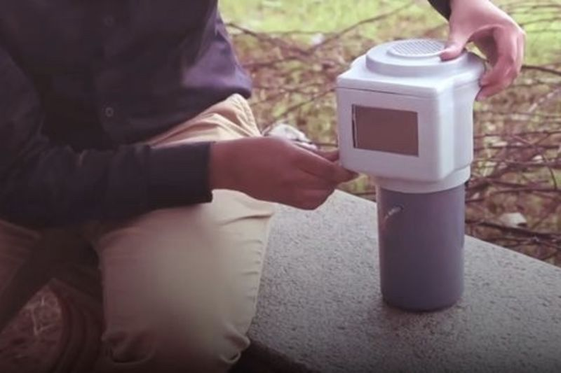 Video: Engineering Student Invented A Machine That Produces Water From The Air 1