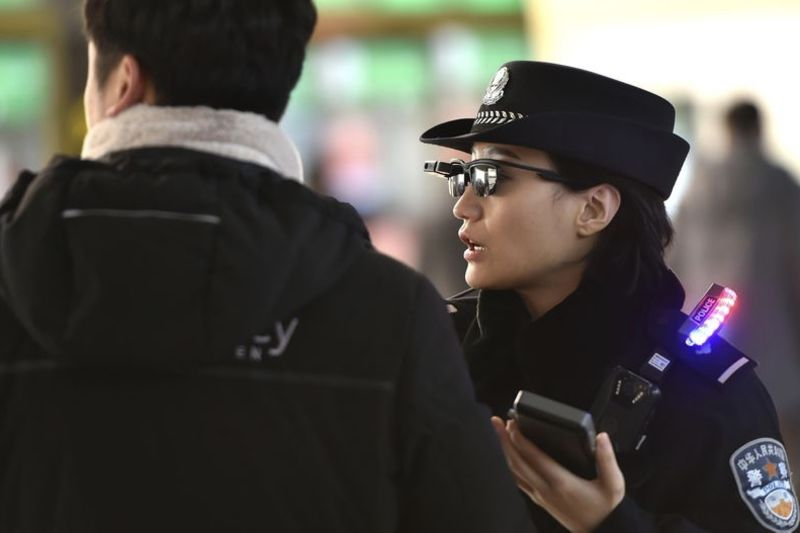 Police In China Using Facial Recognition Sunglasses 1