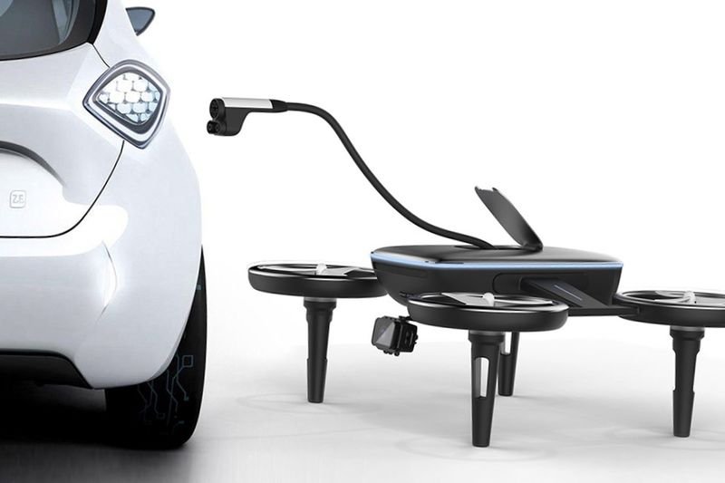 Drones That Charges Your Car Will Save Your Life In The Future 1