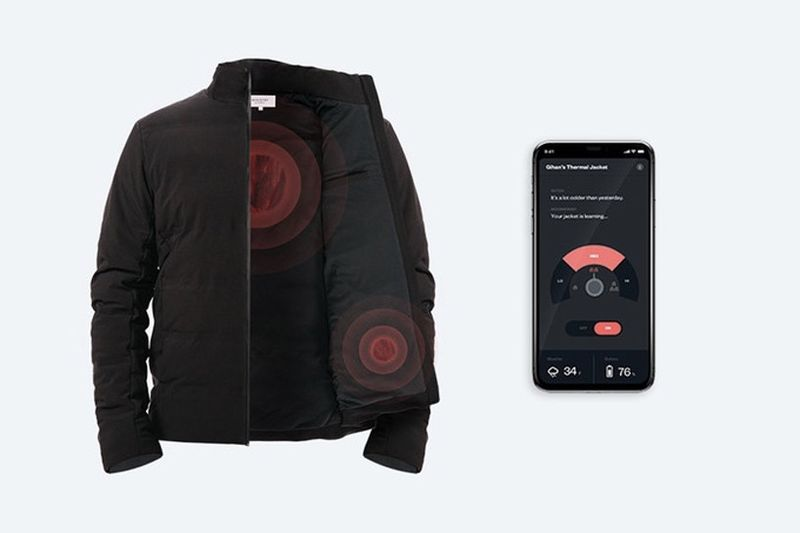 Video: This Jacket Responds To The Changing Temperature 1