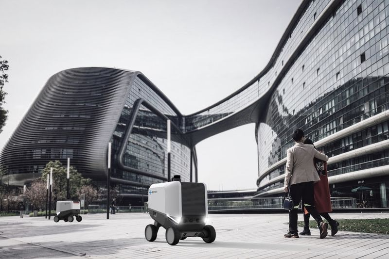 Eliport Delivery Robots Do Not Need Humans 1