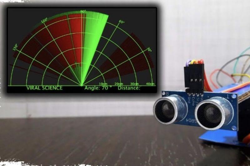 Video: Diy Arduino Radar System 1