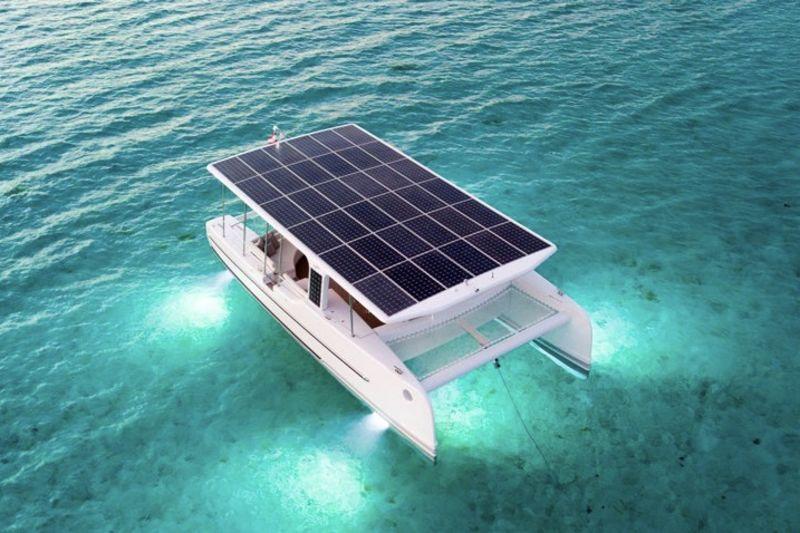 Introducing The Solar Powered Soel Yacht 1