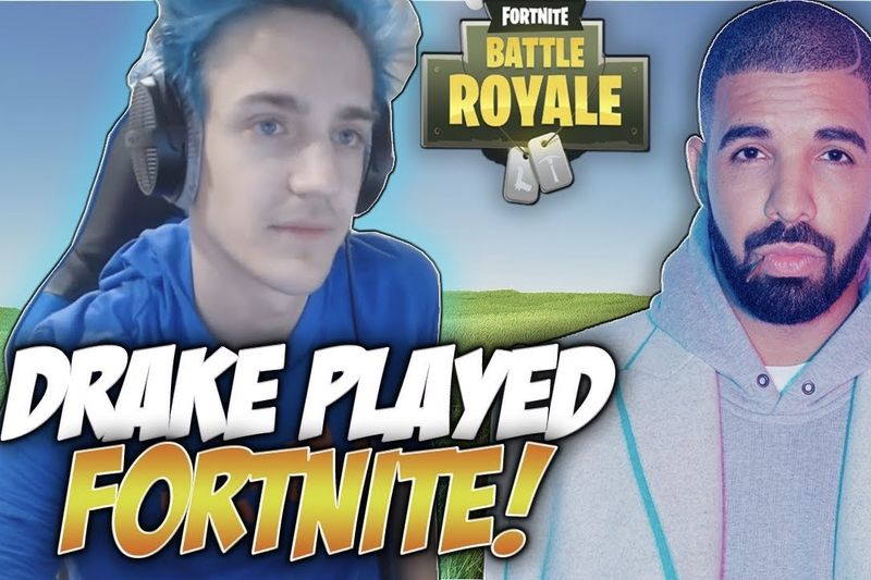 Drake Gave Ninja $5,000 For Winning A Game Of Fortnite 1