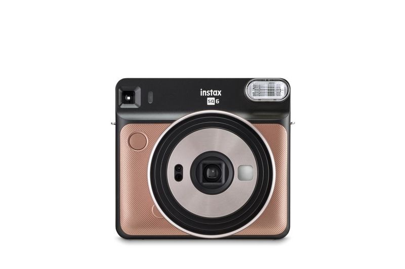 Here Is The First Ever Square Analog Instax Camera 1