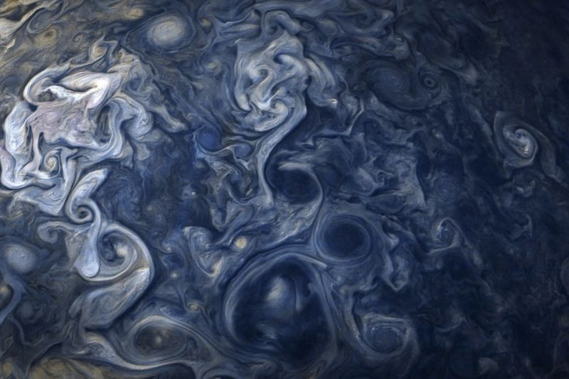 The Clouds On Jupiter Look Fake 1