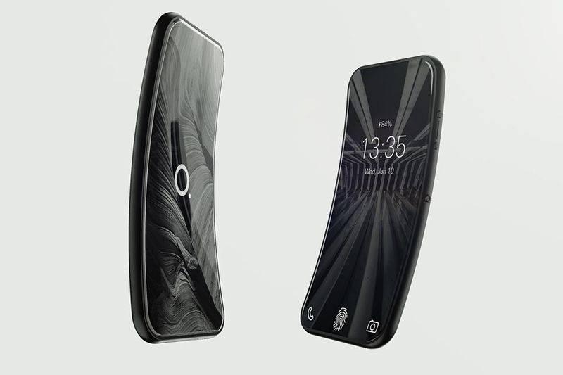 This Bendy Smartphone Is Everything An Iphone Can Be 1