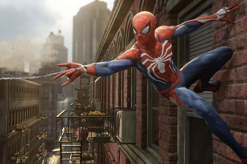 Latest Spider-man Nails Web-swinging On Ps4 1