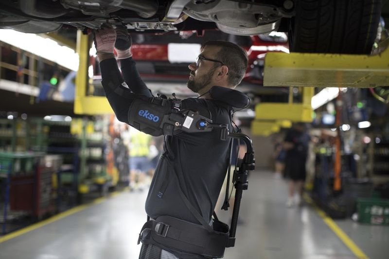 Ford Makes Their Exoskeleton Available To The Rest Of The World 1