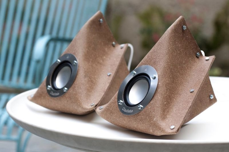 These Leather Speakers Come In The Shape Of An Envelope 1
