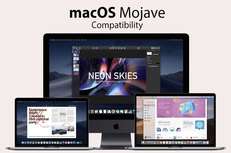 Latest Apple Mac Mojave Software Is Here 1