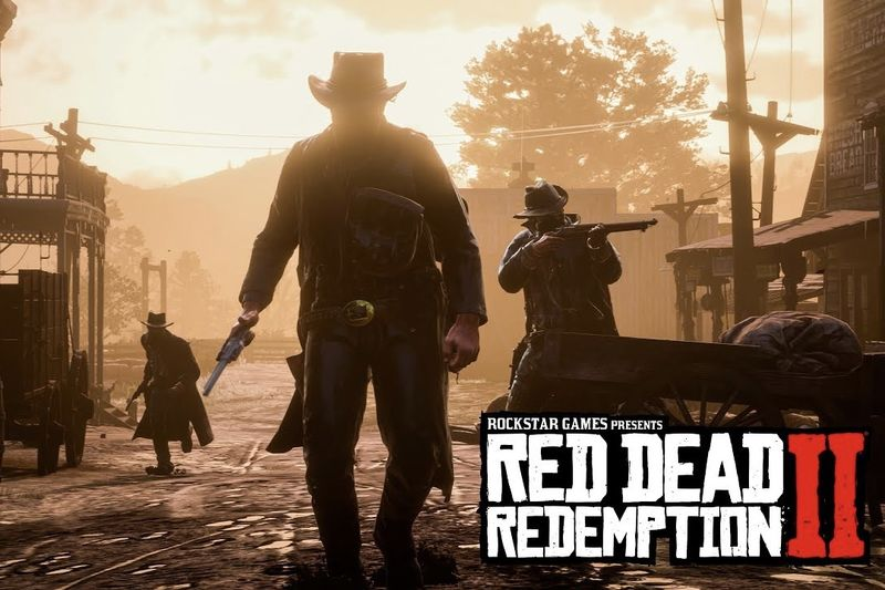 Red Dead Redemption 2,ROCKSTAR GAMES, XBOX ONE, PS4,Computers/Technology,Gaming,