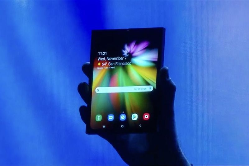 Seems Like The Next Craze Might Be A Foldable Smartphone 1