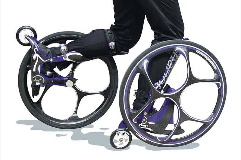 Would You Wear Bicycle Wheels That Attach To Your Feet? 1
