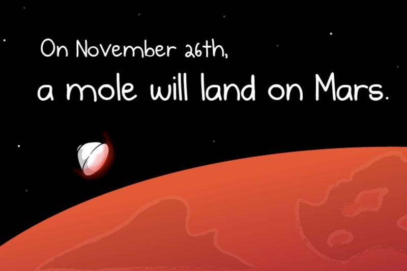 A Mole Will Soon Land On Mars 1