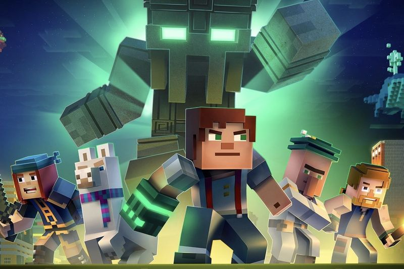 There Is An Interactive Minecraft Series On Netflix 1