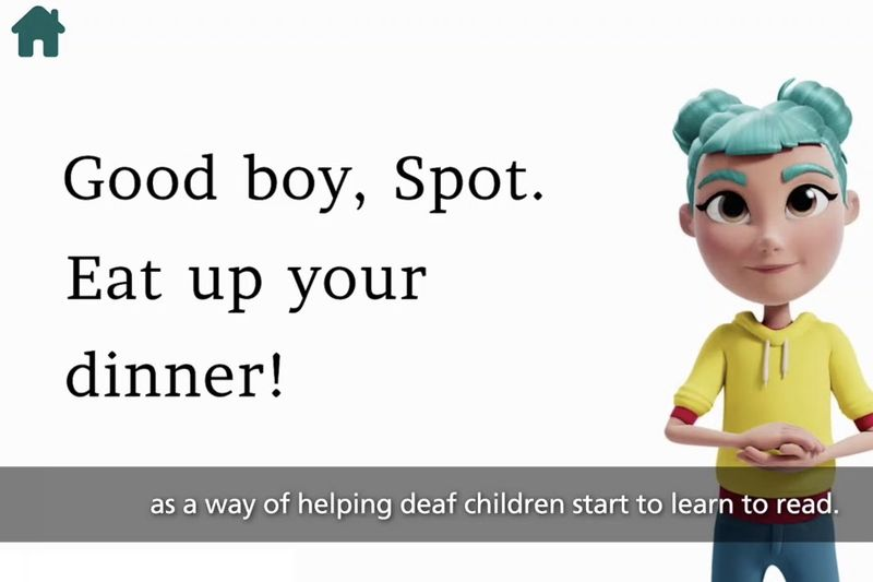 There Is An App That Helps Deaf Children Read 1