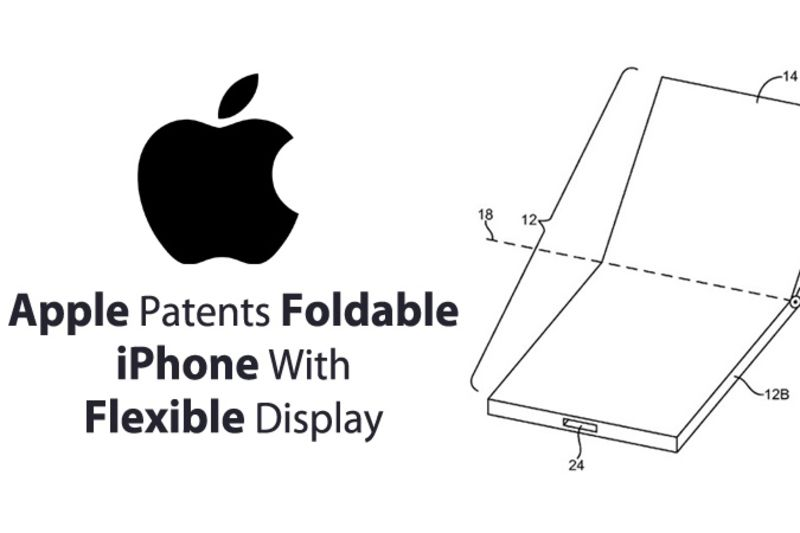 There Is A Patent For A Foldable iPhone 1